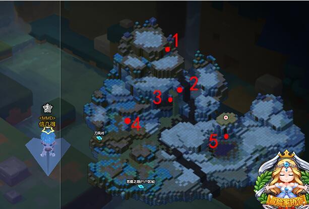 冒险岛2暴风山谷怎么去 黄金宝箱位置介绍
